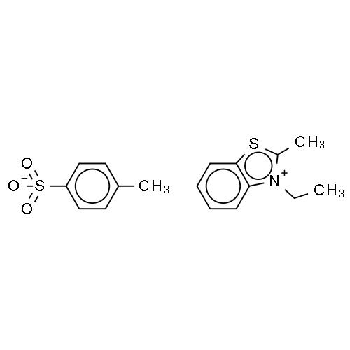 3-Ethyl-2-methylbenzothiazolium p-toluenesulphonate CAS 14933-76-7