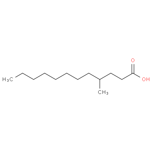 Dodecanoic acid, 4-methyl- CAS 19998-93-7