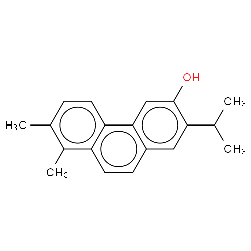 3-Phenanthrenol, 7,8-dimethyl-2-(1-methylethyl)- CAS 199986-64-6