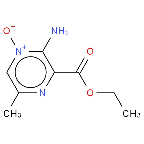 Pyrazinecarboxylic acid, 3-amino-6-methyl-, ethyl ester, 4-oxide CAS 19994-52-6