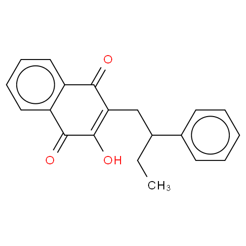 1,4-Naphthalenedione, 2-hydroxy-3-(2-phenylbutyl)- CAS 199929-82-3