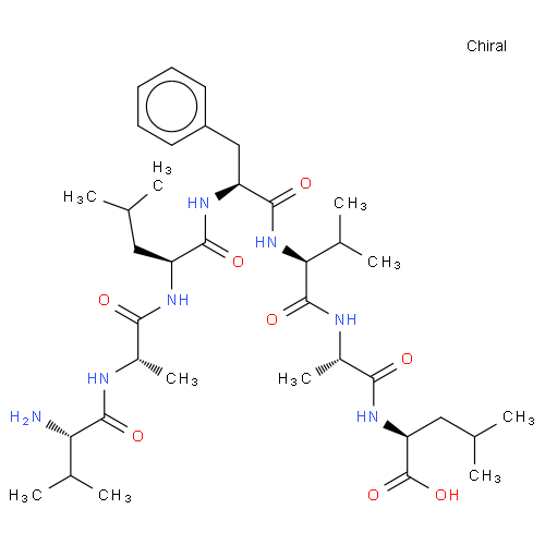 L-Leucine, L-valyl-L-alanyl-L-leucyl-L-phenylalanyl-L-valyl-L-alanyl- CAS 193887-40-0