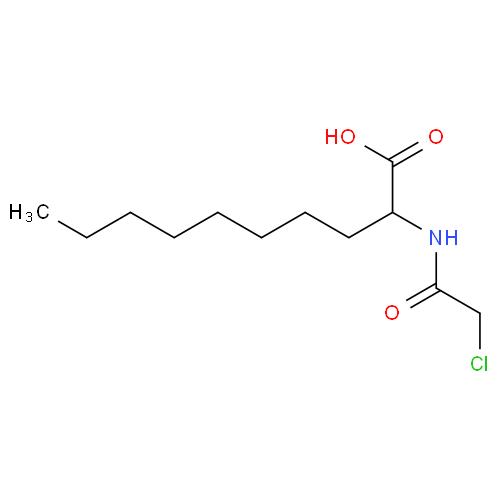 Decanoic acid, 2-[(chloroacetyl)amino]- CAS 193885-57-3