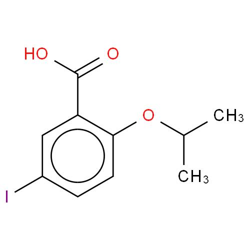 Benzoic acid, 5-iodo-2-(1-methylethoxy)- CAS 193882-71-2