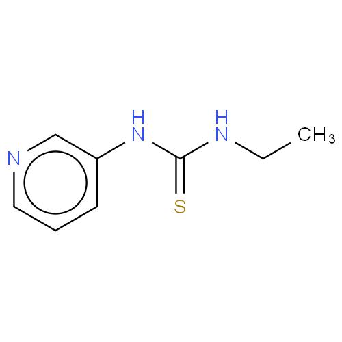 Thiourea, N-ethyl-N'-3-pyridinyl- CAS 19384-19-1