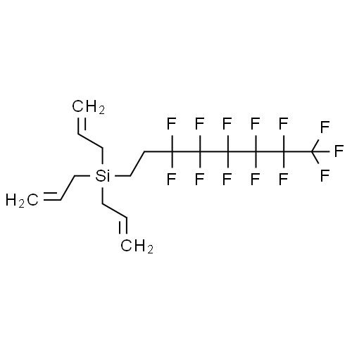 Silane, tri-2-propenyl(3,3,4,4,5,5,6,6,7,7,8,8,8-tridecafluorooctyl)- CAS 193828-95-4