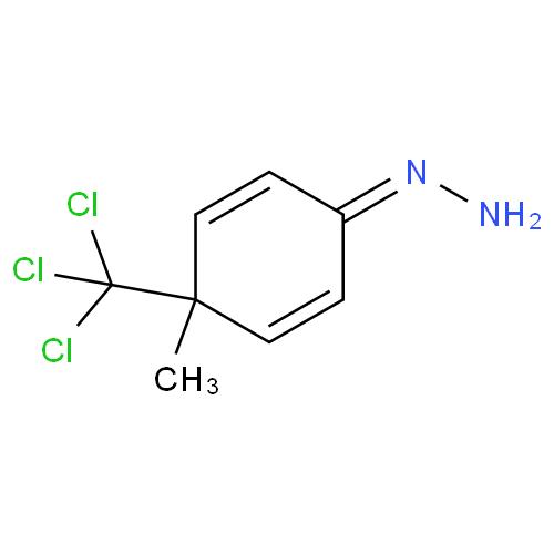 2,5-Cyclohexadien-1-one, 4-methyl-4-(trichloromethyl)-, hydrazone CAS 193825-11-5