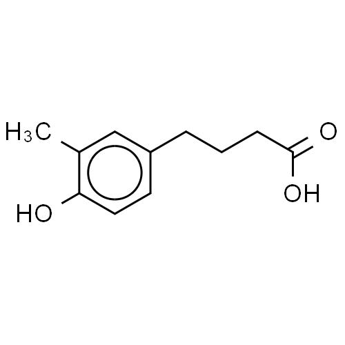 Benzenebutanoic acid, 4-hydroxy-3-methyl- CAS 19374-20-0
