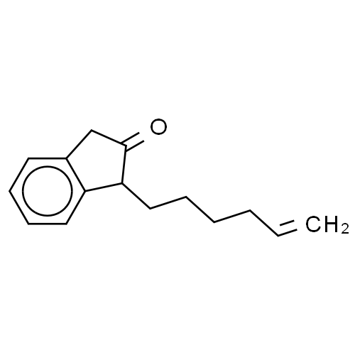 2H-Inden-2-one, 1-(5-hexenyl)-1,3-dihydro- CAS 193737-74-5