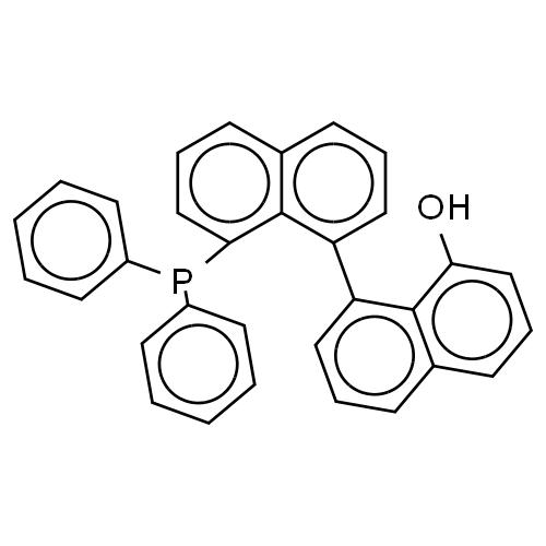 [1,1'-Binaphthalen]-8-ol, 8'-(diphenylphosphino)- CAS 193699-33-1