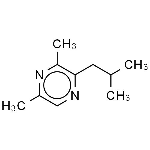 Pyrazine, dimethyl(2-methylpropyl)- CAS 38888-81-2