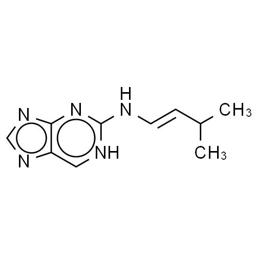 1H-Purin-2-amine, N-(3-methylbutenyl)- CAS 38888-70-9