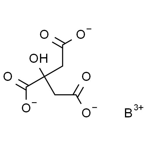 boron citrate boron citrate 74231-02-0 aston chemical, Skeleton
