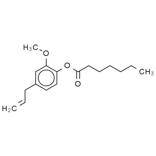 4-ALLYL-2-METHOXYPHENYL HEPTANOATE CAS 93917-74-9