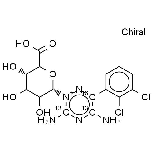 Lamotrigine 13c3 N2 Glucuronide 85 Lamotrigine 13c3 N2 Glucuronide