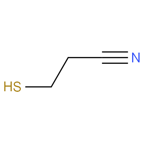 Propanenitrile, 3-mercapto- CAS 1001-58-7