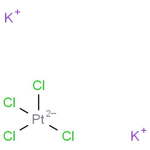 dipotassium tetrachloroplatinate CAS 10025-99-7