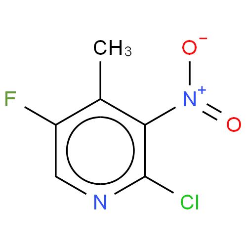 2-CHLORO-5-FLUORO-3-NITRO-4-PICOLINE CAS 1003711-51-0