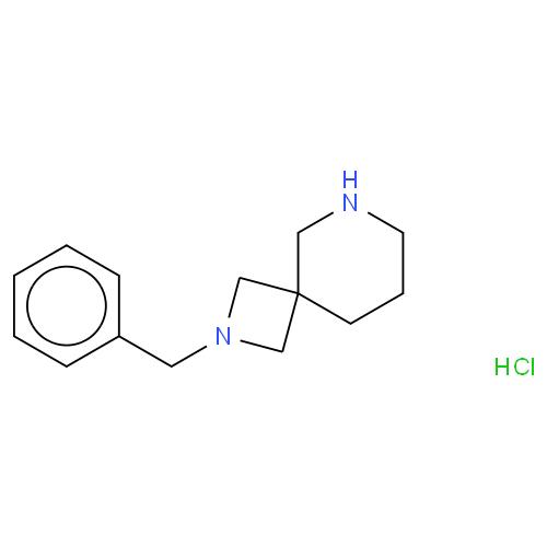 2-benzyl-2,6-diazaspiro[3,5]nonane hcl  CAS 1194374-48-5