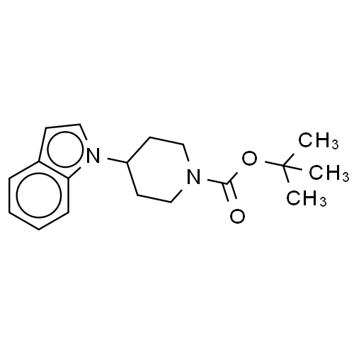 4-(1H-Indol-1-yl)-1-Piperidinecarboxylic Acid Tert-Butyl Ester CAS 170364-89-3